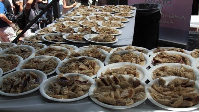 Day-Lee Foods World Gyoza Eating Championship
