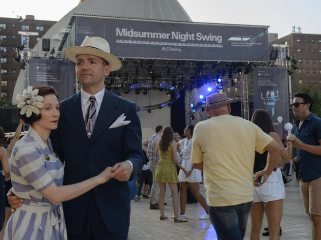 Recap: Lincoln Center's Midsummer Night Swing