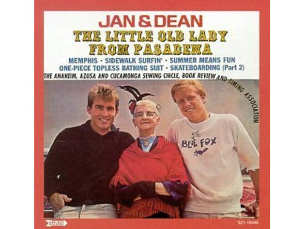 """The Little Old Lady from Pasadena"" by Jan and Dean (1964)"