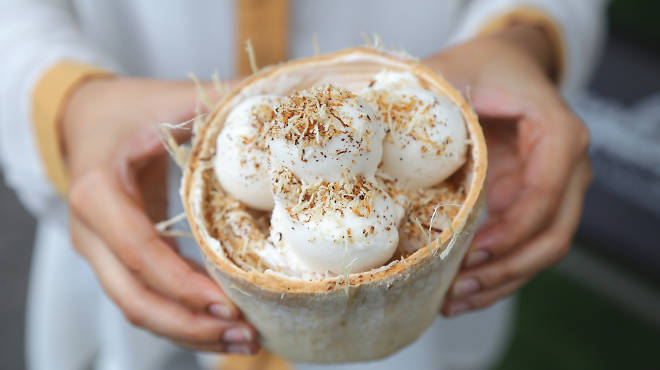 Now open: Sangkaya coconut ice cream