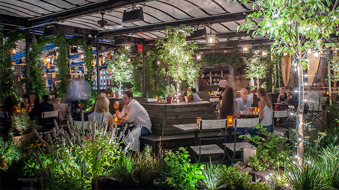 Get your drink on at the city's prettiest outdoor bars