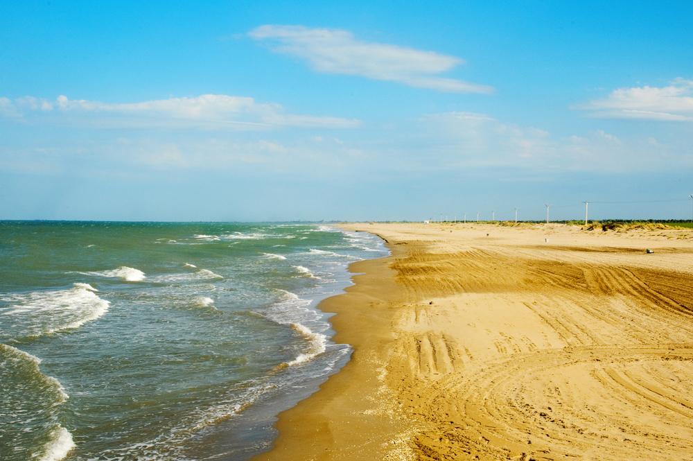Playa del Trabucador, Delta del Ebro