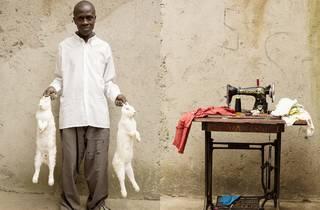 Jillian Edelstein (John Dushimimana and Rabbits, Nyanza district, Rwanda)