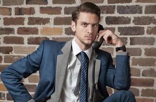 Steen Raskopoulos – I'm Wearing Two Suits Because I Mean Business