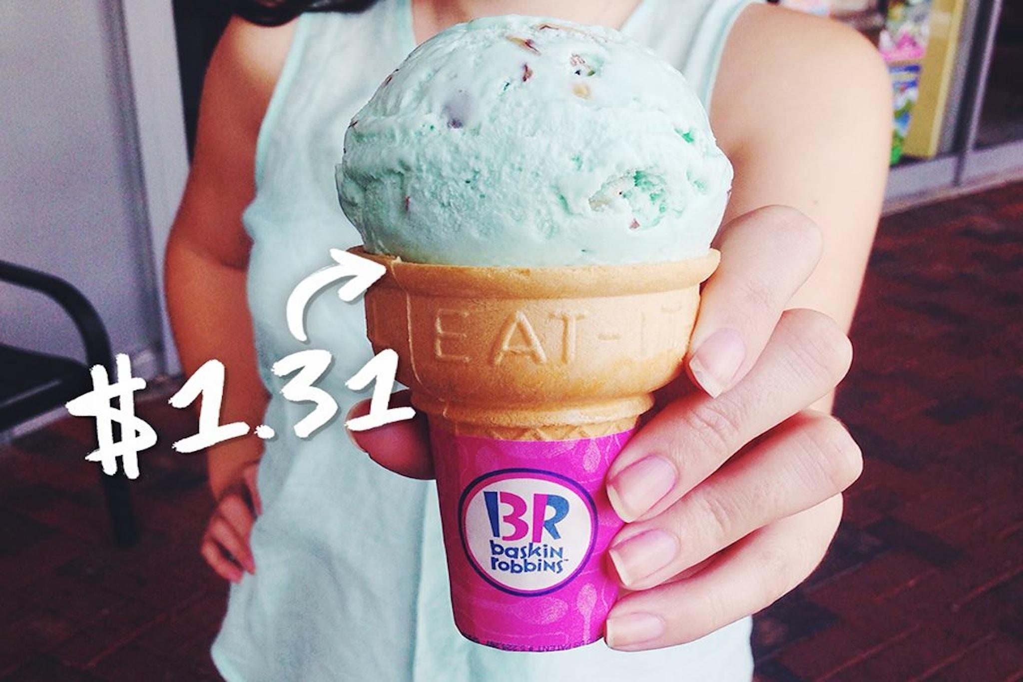 Celebrate 31 with Baskin-Robbins