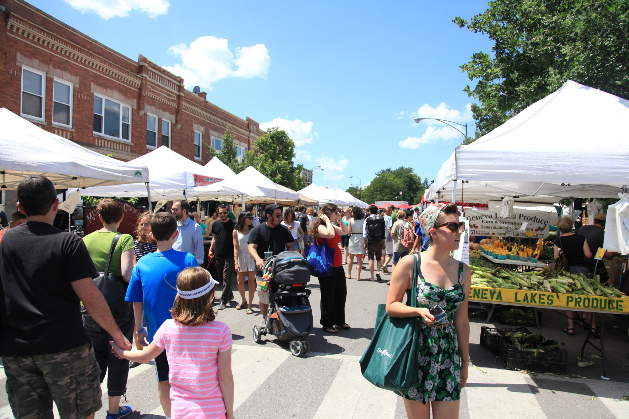 Farmers' markets are the best grocery stores in town