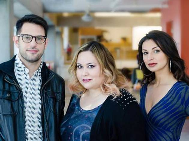 First Look 2014 playwrights Joshua Conkel, Tanya Saracho and Martyna Majok