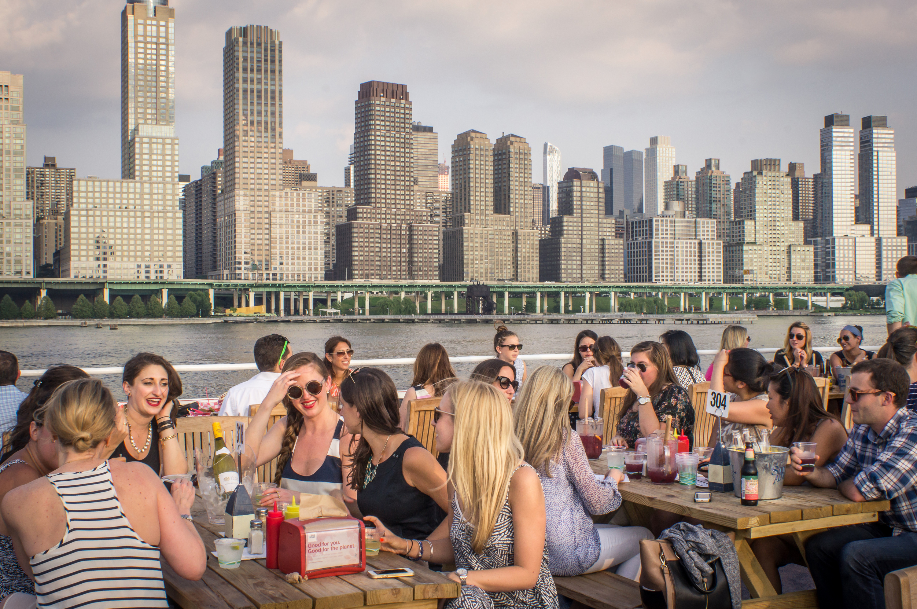 NYC's best waterfront restaurants and bars