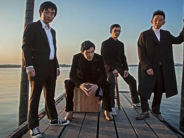 No Black Tie presents T'ang Quartet