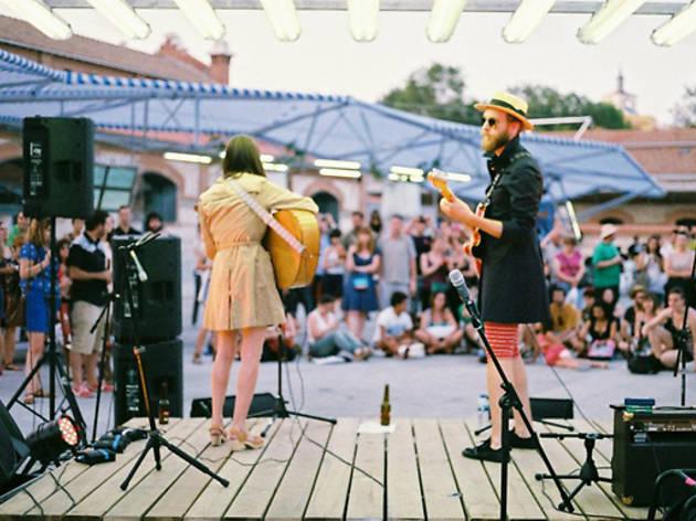 Concierto en la Terraza de Matadero Madrid