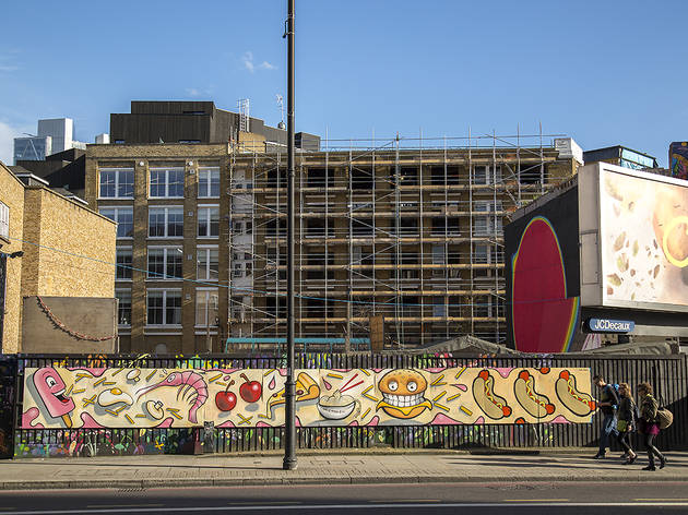 Edible graffiti