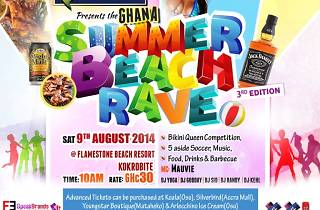 Summer Beach Rave with TIcket Ghana