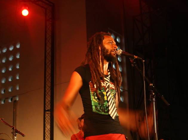 Rootsplash Reggae night at Alliance Francaise Accra Ghana
