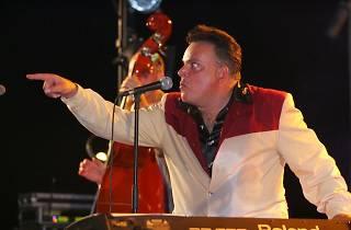Mas i Mas Festival 2014: Mike Sánchez & Barcelona Big Blues Band amb Dani Nel·lo