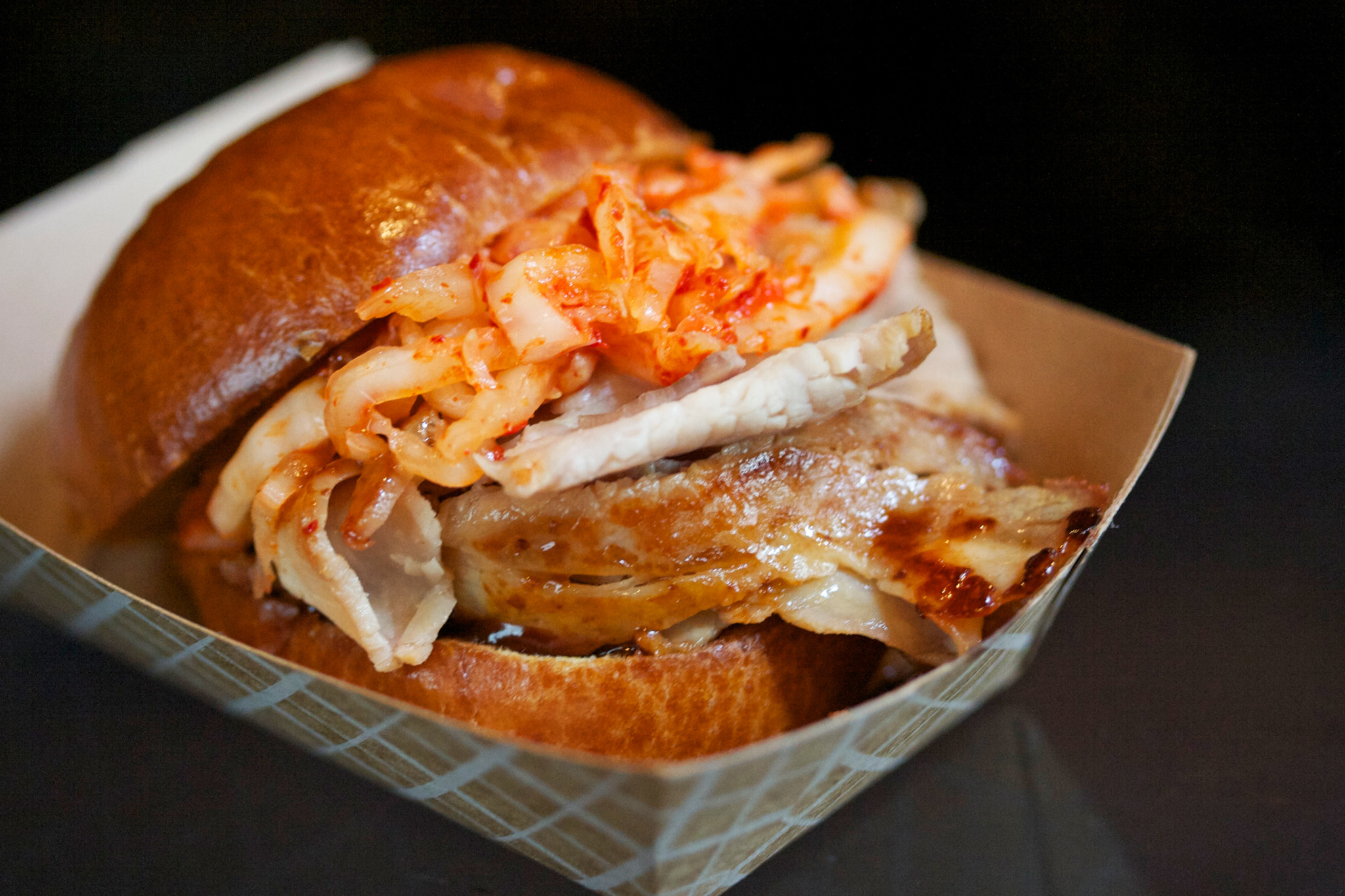 Henry's Kimchi Pork Slider