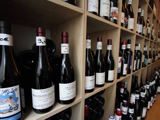 Au Quai caviste vin rouge bland rosé Canal Saint Martin