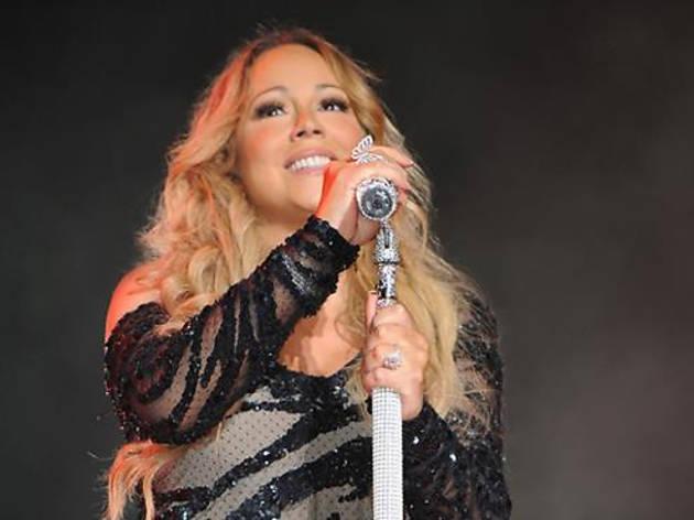 Mariah Carey live in KL