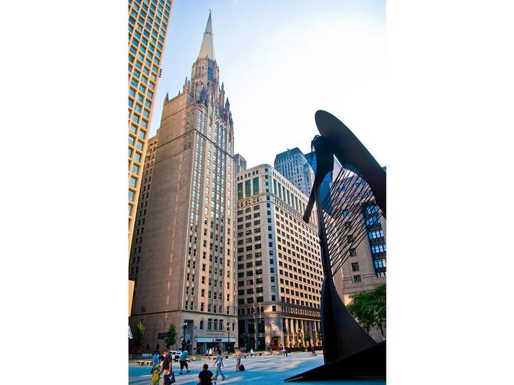 Chicago Temple Building, 77 W Washington St