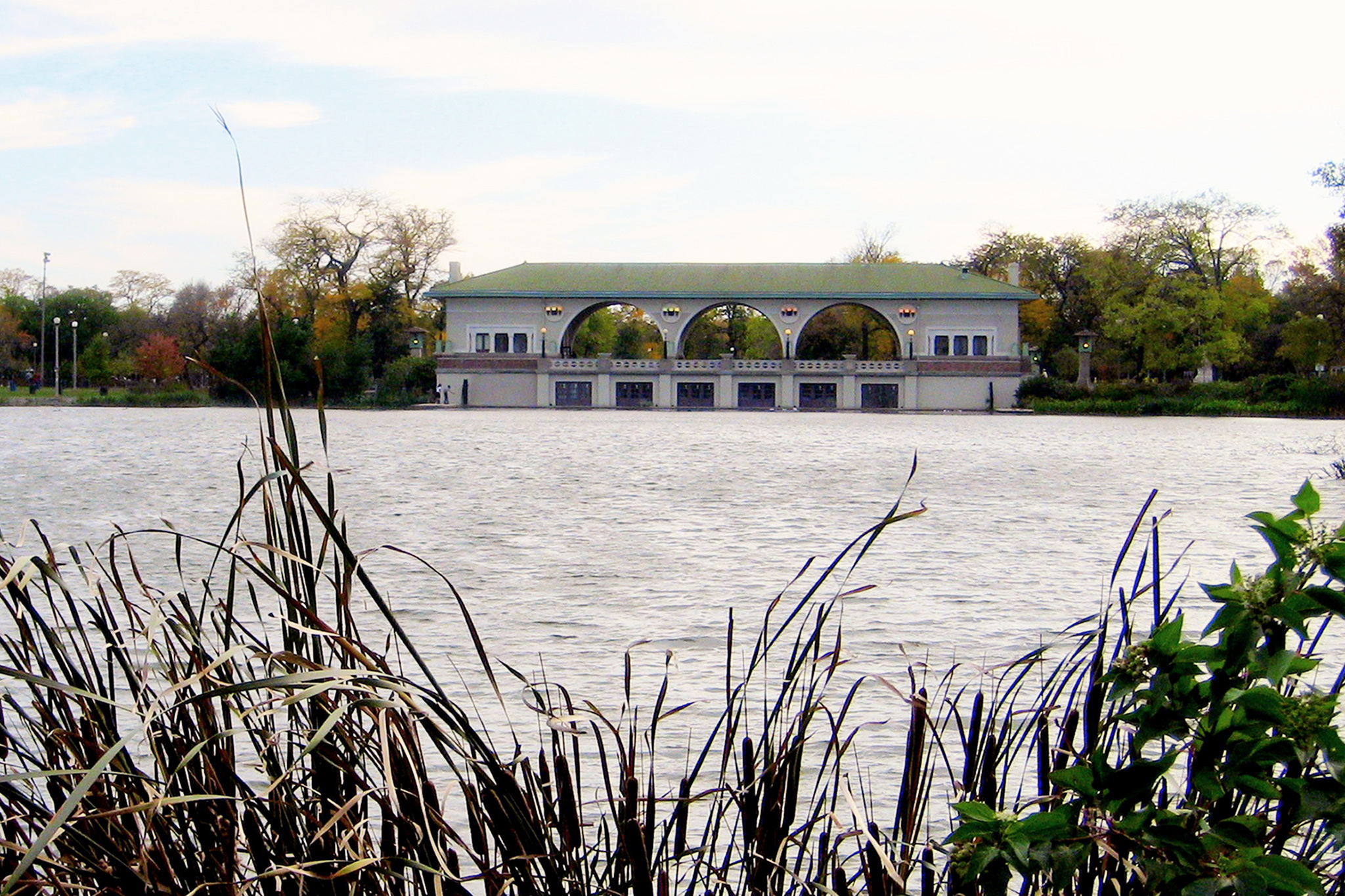 Humboldt Park Boathouse