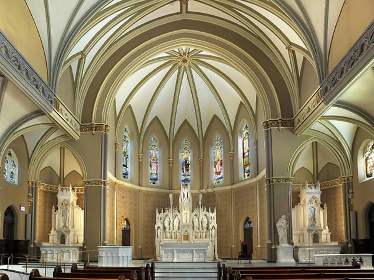 Our Lady of Mt. Carmel Catholic Church, 708 W Belmont Ave