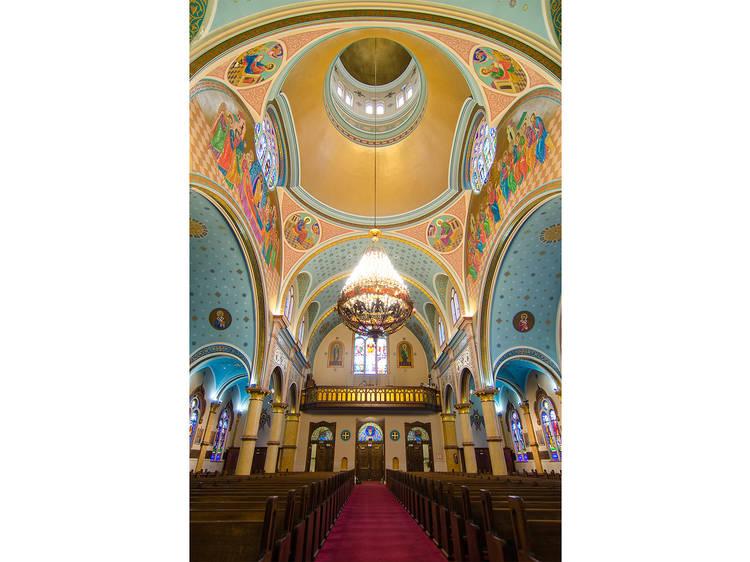 St. Nicholas Ukrainian Catholic Cathedral, 835 N Oakley Blvd