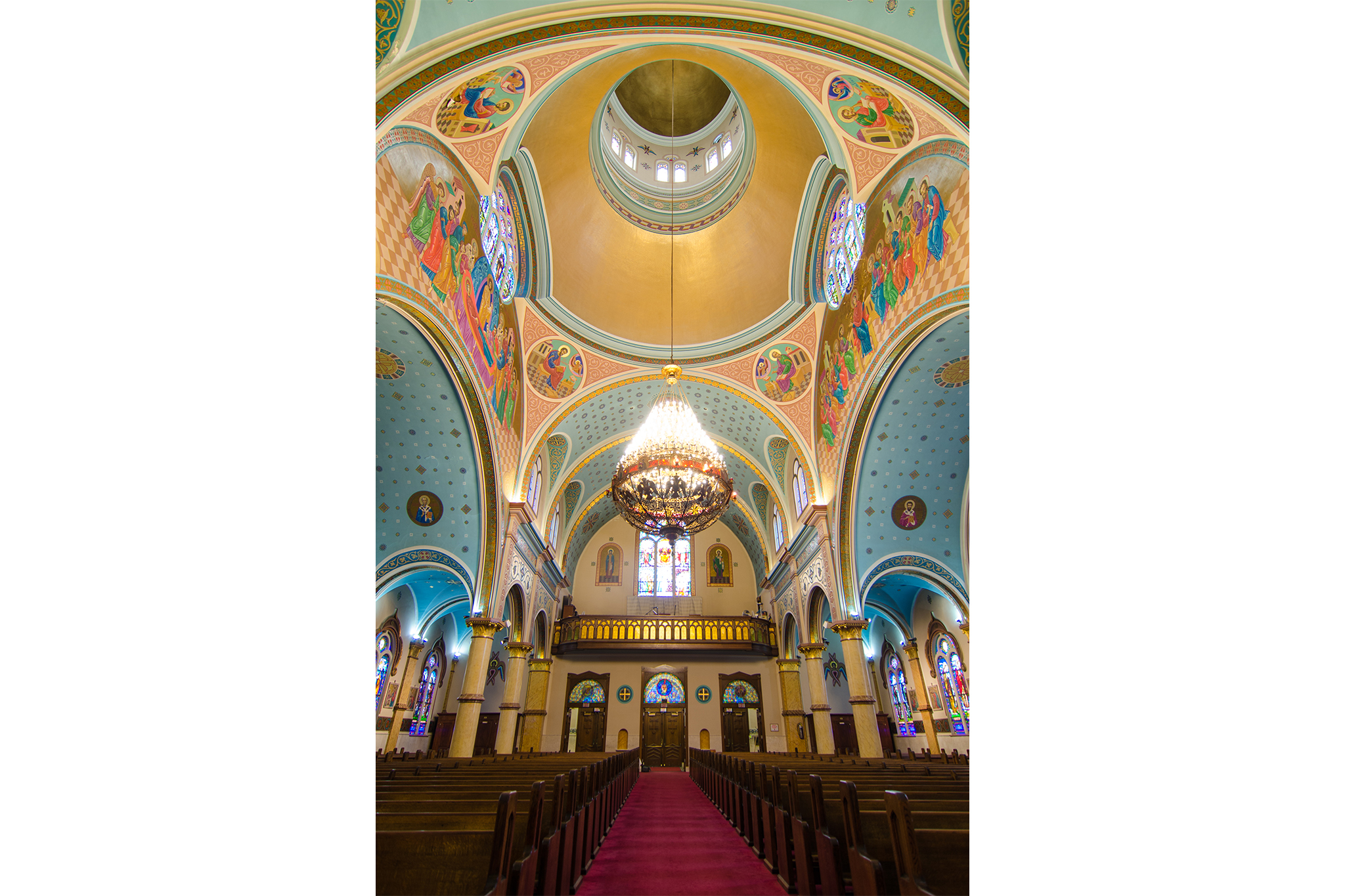 St. Nicholas Ukrainian Catholic Cathedral, 835 N Oakley Blvd