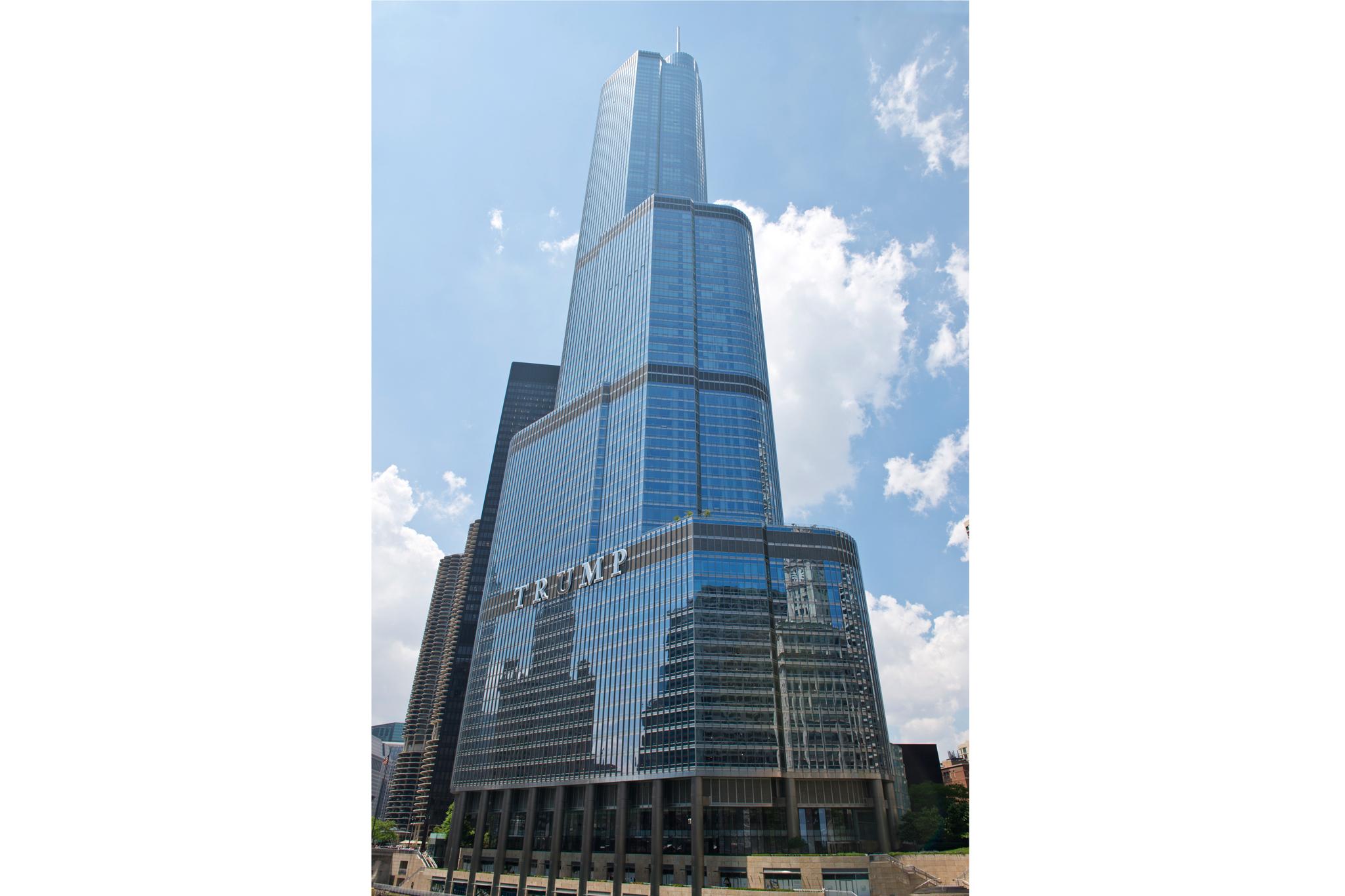 Trump Tower, 401 N Wabash Ave