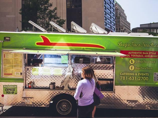 Food Trucks At Boston Common