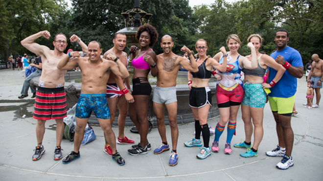 See the 22 best photos of the 2014 NYC underwear run (NSFW)