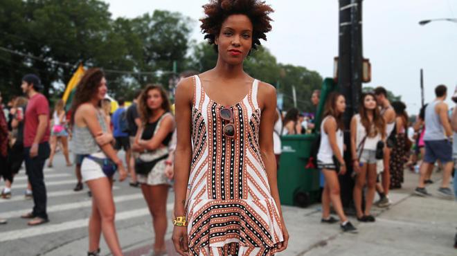 Lollapalooza street style