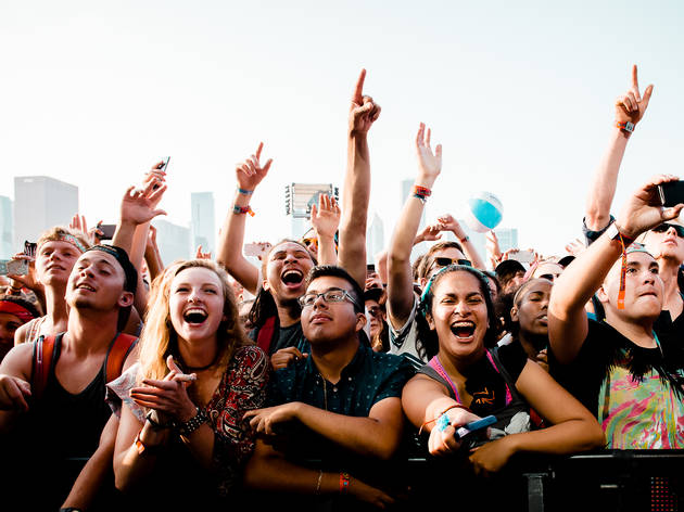 Lollapalooza 2016 schedule released