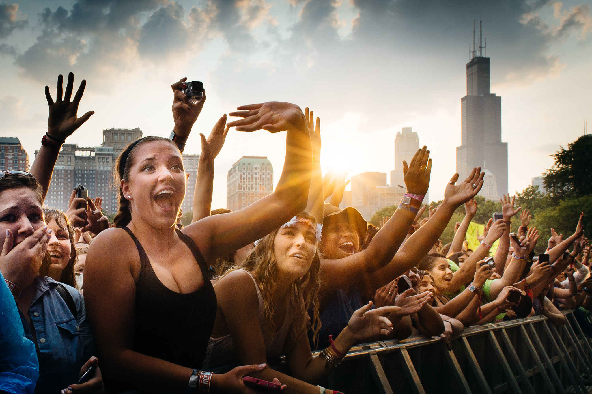 Gorge on bands and street food at Lollapalooza