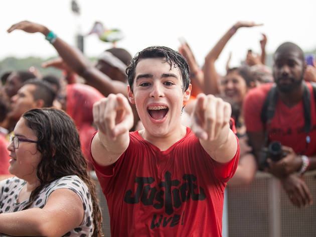 Grant Park is one big party as tens of thousands attend Lollapalooza 2014, August 3.