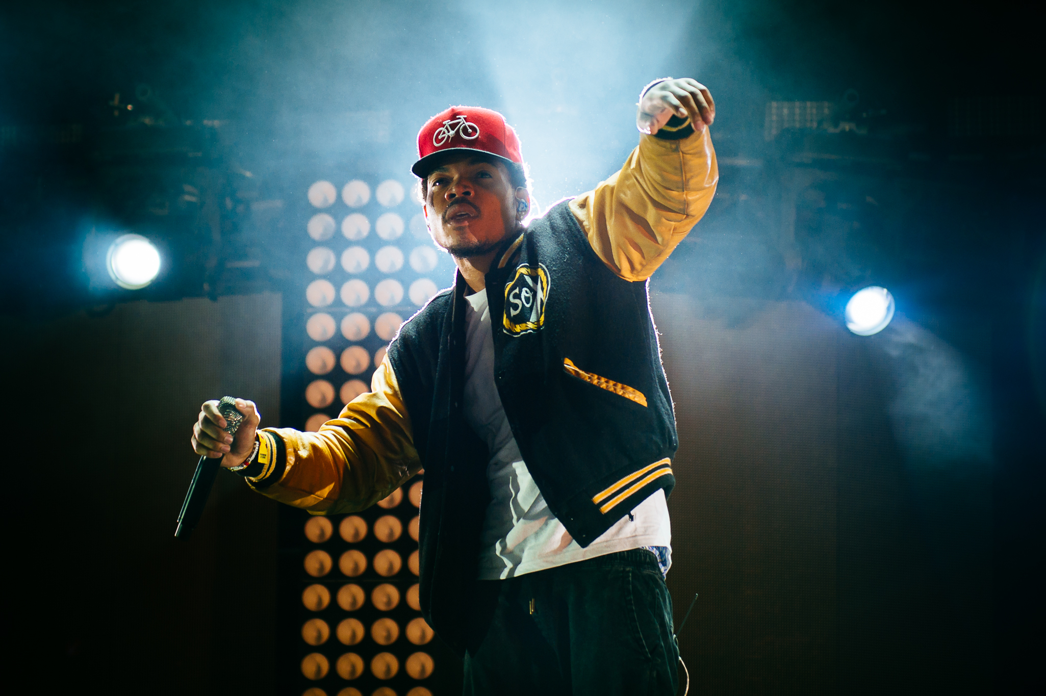 Chance the Rapper returned to Lollapalooza last night