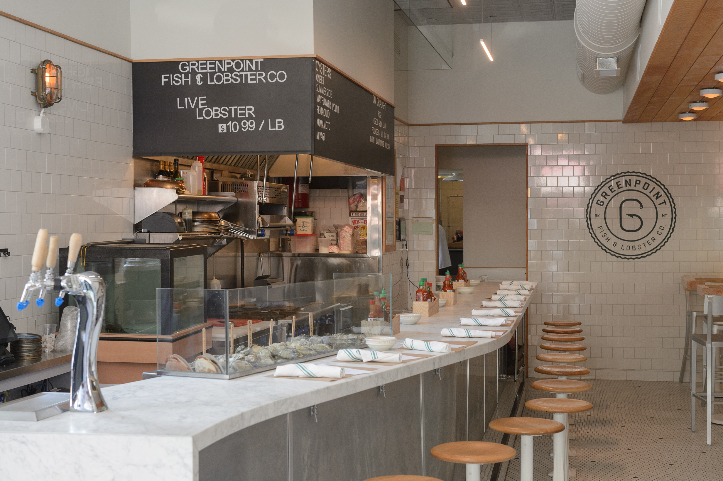 Seafood market and restaurant Greenpoint Fish & Lobster Co now open