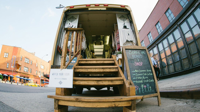The city's hottest fashion trucks