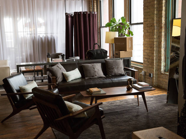 Sip a cocktail while getting styled at Trunk Club