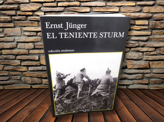 El teniente Sturm Ernst Jünger