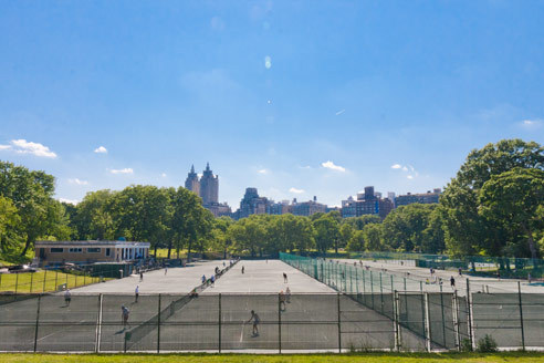 Where to play tennis in New York