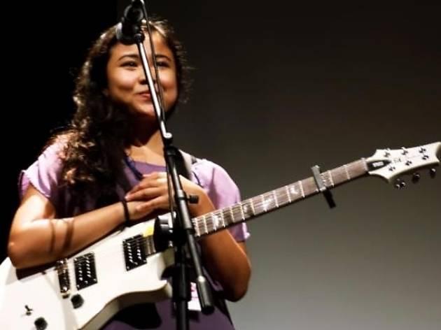 Emilia Zainudin live at Merdekarya