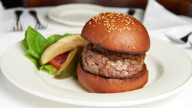The Black Label Burger at Minetta Tavern