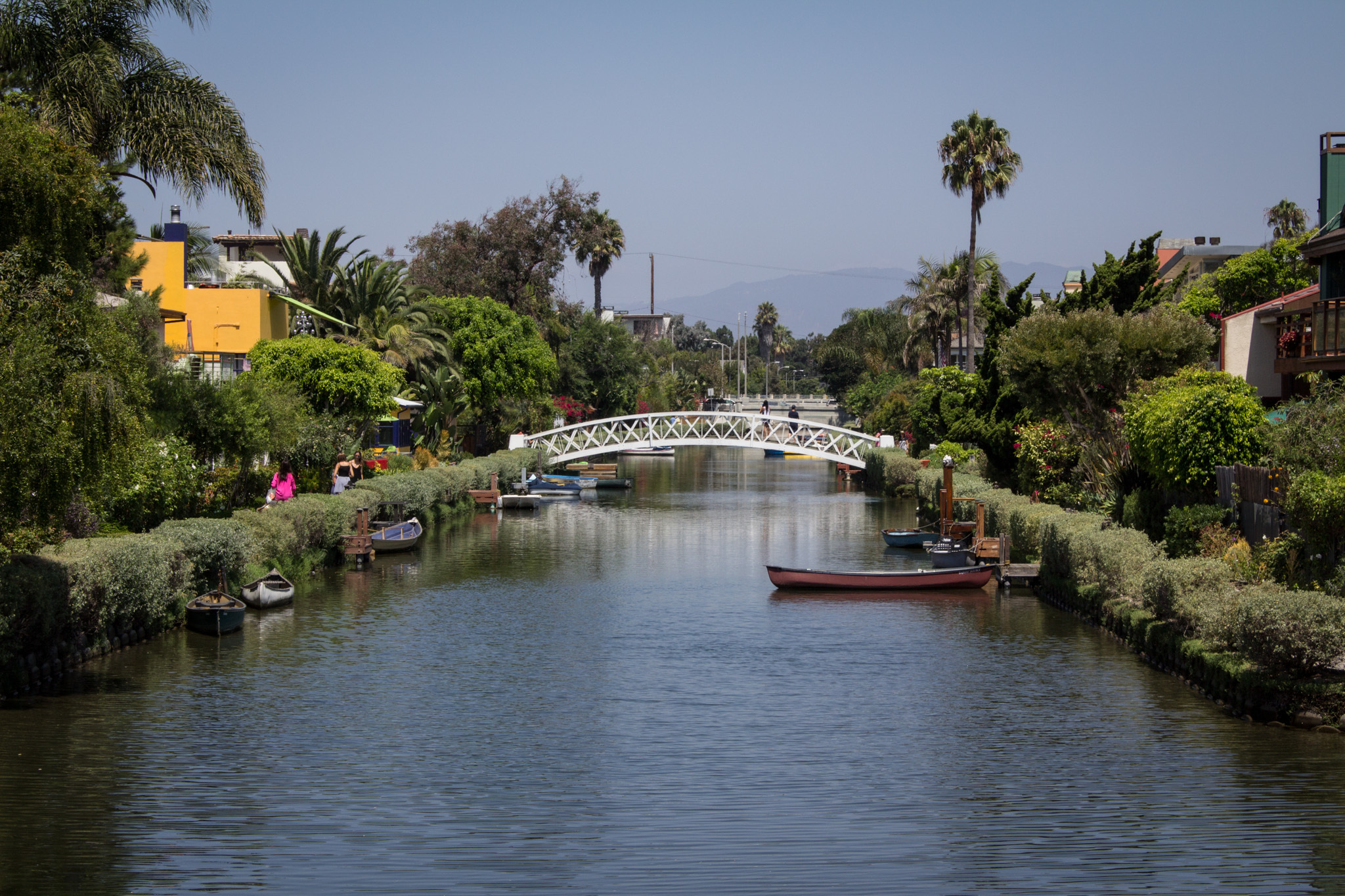 Mosey along the Venice Canals