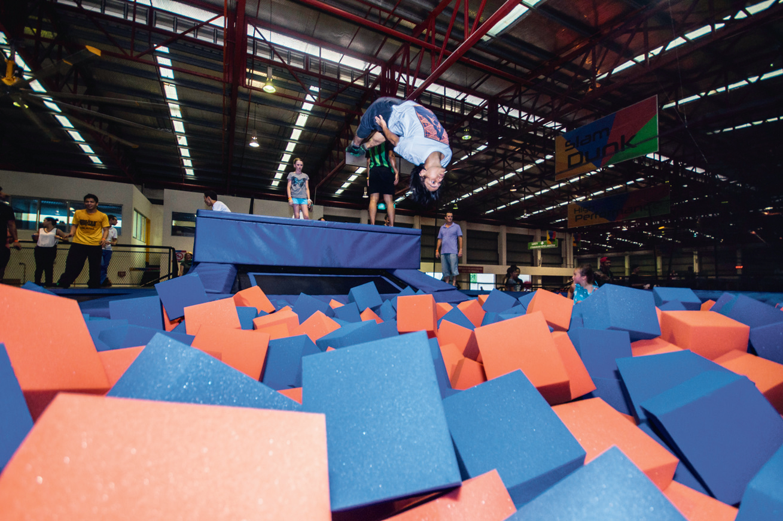 Jump Street trampoline park KL