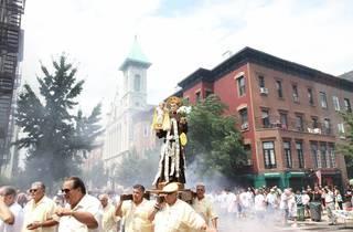 Giglio Society of East Harlem Saint Antonio Feast