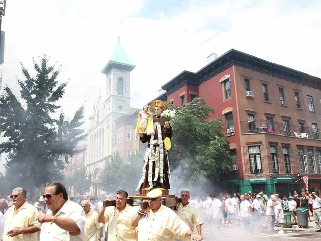 Giglio Society of East Harlem Saint Antonio Feast