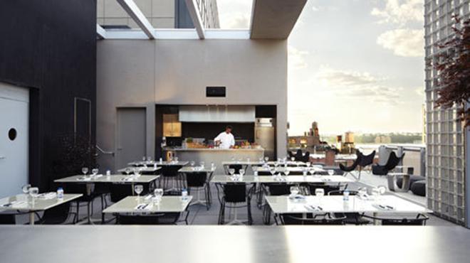 La piscine hotel americano restaurants in chelsea new for La piscine new york restaurant