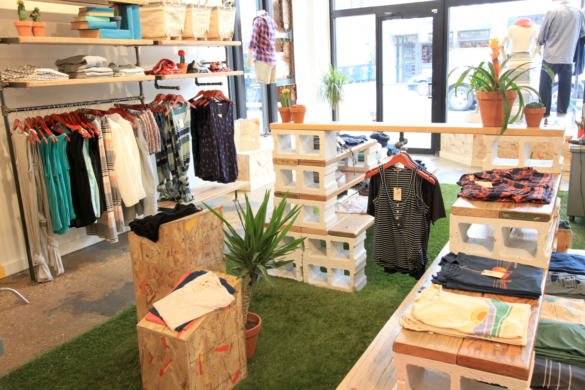 "Shop trendy boutiques in the hipster-heavy ""Crotch"""