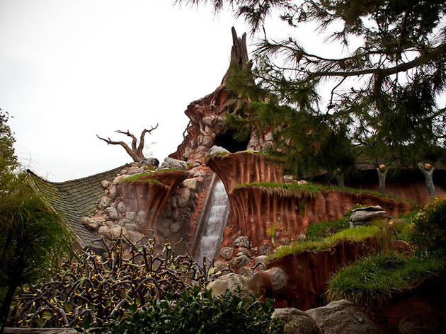 Splash Mountain.