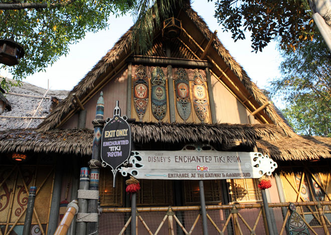 Enchanted Tiki Room.