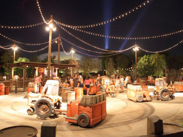 Mater's Junkyard Jamboree.